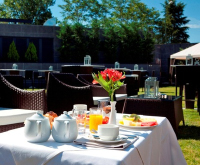 Garten Nuevo Boston Hotel