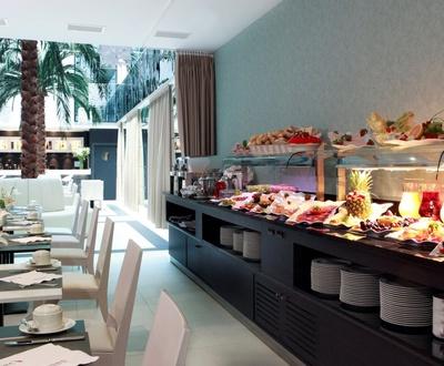Frühstücksbüffet Nuevo Boston Hotel
